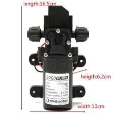 DC12V 70W High Pressure Micro Diaphragm Water Pump Automatic Switch 6L/min M18