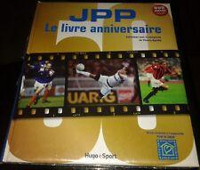 NEUF SCELLE LIVRE JPP JEAN PIERRE PAPIN ANNIVERSAIRE+DVD OLYMPIQUE DE MARSEILLE