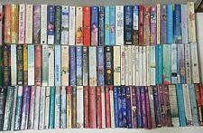 Libro en rústica de grandes novelas de romance Fantasy Lote de 102 Vintage y autores populares