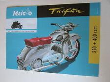 Archivio MOTO Edition fac simili 1072e MAICO Tifone 1954 prospetto