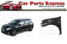 NISSAN QASHQAI 2010 - 2013 FRONT WING PAINTED ANY COLOUR LEFT SIDE N/S
