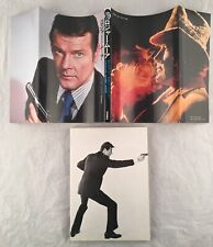 James Bond 007 Japanese Book Roger Moore Collectors Item Live And Let Die Golden