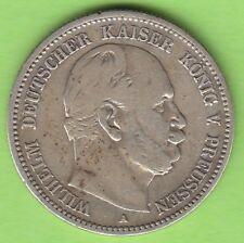 Preußen 2 Mark 1876 A knappes sehr schön nswleipzig