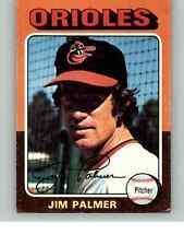 1975 Topps #335 Baltimore Orioles Jim Palmer HOF! VG+ No Reserve!