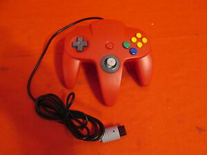 Red Classic Controller For Nintendo 64 For N64 Gamepad Brand New 1910