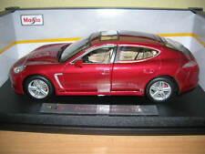 Maisto Porsche Panamera Turbo Rojo Oscuro Rojo, 1:18