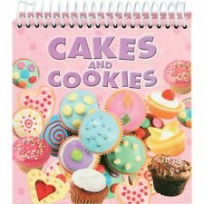 Cakes and Cookies: Cooking Baking Book Flip Free Standing RRP £7.99 NEW