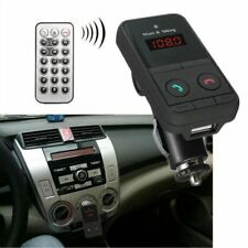 Bluetooth Hands-Free Car Kit FM Transmitter USB SD MP3 Player with Remote LOT NC