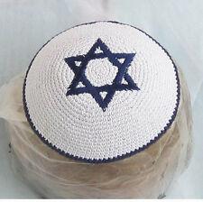 New Star of David Kippah Kipa Hippot Judaica Jewish Yarmulkah Yarmulkes Kipot