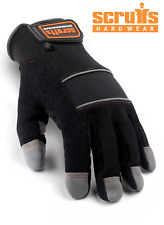 SCRUFFS FULL FINGERED MAX PERFORMANCE PRECISION GLOVES SAFETY WORK GLOVE T50990