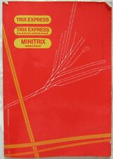 TRIX Gleisbuch 6615 1966 EXPRESS International Minitrix Electric Gleispläne