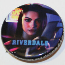 """CW RIVERDALE High Veronica Lodge 1 1/4"""" Button Pin Back Pinback Licensed NEW"""