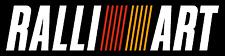 RALLIART Sticker 12 x 3 inch Race Motorsport Mitsubushi EVO  Ralli Art