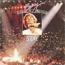 """Barry Manilow – Stay (Live) 7"""" – ARISTA 464 – VG"""