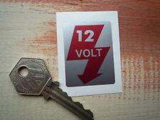 12 VOLT or 6 VOLT Volkswagen Beetle & Porsche 356 early 911 Car STICKER Classic