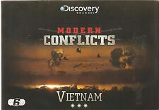 MODERN CONFLICTS VIETNAM - 6 DVD BOX SET PACK COMPLETE DISCOVERY SERIES