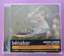 CD INFREQUENTABLE - BENABAR NEUF SOUS CELLO