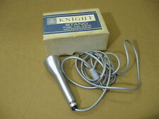 Scarce Knight 4510 Microphone Excellent Condition With Cord Guaranteed w/ Box