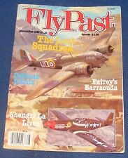 FLYPAST MAGAZINE NOVEMBER 1983 - THE LOST SQUADRON