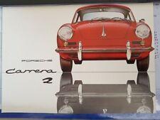 Prospetto PORSCHE 356 Carrera 2 dei 1963 numero W 295 3 M 12. 63 o come nuovo