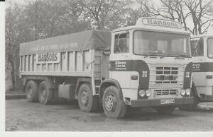Photo, ERF Tipper,  R Hanson & Son Ltd,  Chapel-en-le-Frith