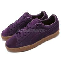 Puma Suede Classic Pincord Shadow Purple Gum Men Casual Shoes Sneakers 366235-02