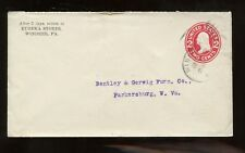 US Mid-Atlantic Stationery Advertising Cover (Eureka Stores) 1910 Windber, Pa