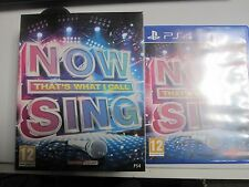 NOW THAT'S WHAT I CALL MUSIC SING + 1 Logitech Microphone Mic PS4
