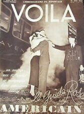 REPORTAGES PHOTOS VOILA 1938 SECRET S.D.N. REINE ANGLETERRE DARLAN CENSURE USA