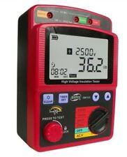99.9G Insulation Resistance Tester Ohm High Voltage Meter GM3123 2.5KV Megger