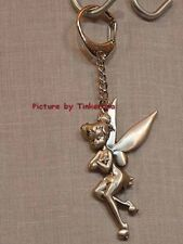 Tinker Bell Pewter inicial A Llavero