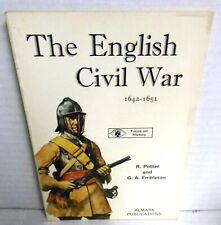ALMARK BOOK English Civil War  by Potter & Embleton 1973 op 1st Ed