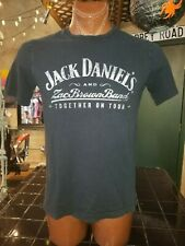 Jack Daniel's and Zac Brown Brand Together on Tour black large t-shirt