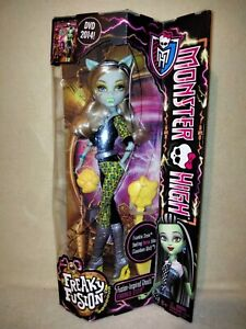 Monster High Frankie Stein - Freaky Fusion 2013 BNIB.CRAZY SET AT A GREAT PRICE!