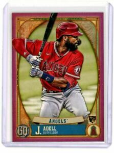 2021 Topps Gypsy Queen #261 Jo Adell - Los Angeles Angels RC Mauve Border /75