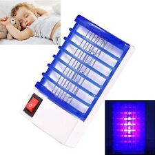 LED Socket Electric Mosquito Fly Bug Insect Trap Night Lamp Killer Zapper Hot MT