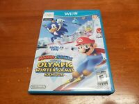 Mario And Sonic At The Olympic Winter Games Sochi 2014 (Nintendo Wii U) TESTED