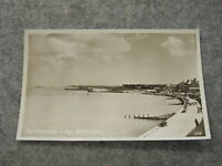 Real photographic Kent postcard - Promenade & Bay Birchington