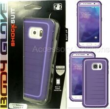Body Glove Samsung Galaxy S6 Shocksuit Case Cover Purple, 9491501