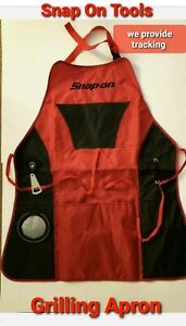 Snap On Tools Grilling Apron Cooking Kitchen with Pocket/Bottle Opener NEW !!!!!