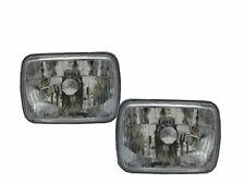 Caravan 1988-1990 VAN 5D Clear Headlight Chrome for DODGE LHD