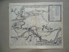 Belagerung Dole Burgund Vogelschau Theatrum Europaeum Merian Kupferstich 1655