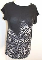 BEST TIME Woman's Sleeveless Black Top Size Large UK 14-16