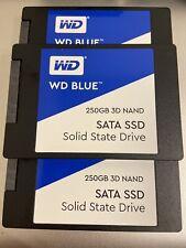 WD BLUE 250GB 3D NAND SATA SSD WDS250G2B0A
