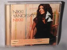 CD NIKKI YANOFSKY Nikki w/I Believe (2010 Olympic Winter Games) NEW MINT SEALED