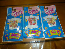 Lot de 3 T-Shirts poupée Barbie Sindy, 1993, Hasbro