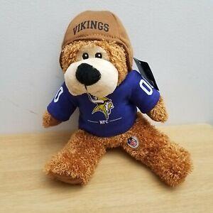 NFL Minnesota Viking Football Bear NFC Brown Purple NEW