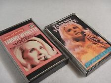 2 Rare Cassette Lot : Always Gets it Right & Queen of Country by Tammy Wynette