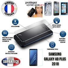Protection d'Ecran en Verre Trempé  pour Samsung Galaxy A8 Plus 2018