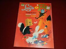Lots O Fun Whitman Activity Book #1266 1975 Skunk cover - Nice